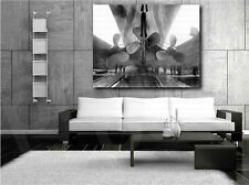 Titanic Ship Propellers Black and White Canvas Art Poster Print Wall Decor