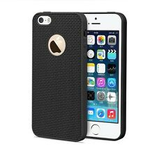 mStick Grid Radiating Soft TPU Back Cover Case For Apple iPhone 5 / 5S / SE