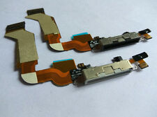 New Charging Port Dock Connector Mic Flex Cable For iPhone 4S Black/White