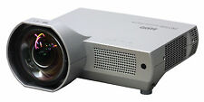 HOME CINEMA HDMI ULTRA SHORT THROW 2000 LUMENS LCD PROJECTOR NEW LAMP REMOTE