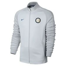 N98 BIANCA INTER NIKE TRACK TOP 2016/2017 CALCIO FELPA JACKET ARTICLO UIFFICIALE