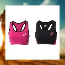 ASICS ESSENTIAL WOMENS TRAINING CROP TOP RACERBACK SPORTS BRALET FITNESS 130817
