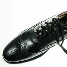 Ghillie Brogues Kilt Leather Shoes with Leather Sole UK 8,9,10,11, 12