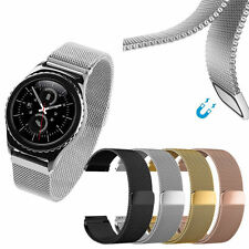 Milanese Magnetic Stainless Steel Watch Band For Samsung Galaxy Active 42mm 46mm