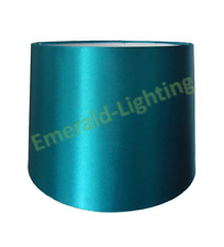 """8"""" 10"""" 12"""" Empire Drum Silk Fabric Lamp Light Shade Table Lamp Ceiling TEAL"""