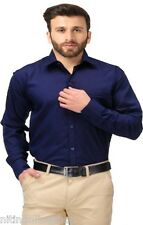 Dark  Blue Color Formal Shirts For Men -