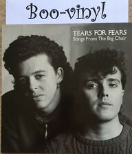 Tears For Fears - Songs From The Big Chair RARE VINYL LP 1985 EX+ A1/B1