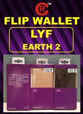 Flip PU LEATHER CASE COVER FOR  Reliance Jio Lyf Earth 2