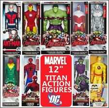 "MARVEL + DC 12 Inch Titan Hero Series Action Figures Avengers Spiderman 12"" New"