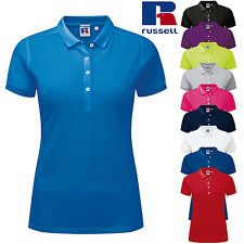 Russell Women's stretch polo (J566F)