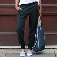 SF SK425 Skinnifit Womens Slim Cuffed Jogger Pants Ladies Casual Trouser Bottoms