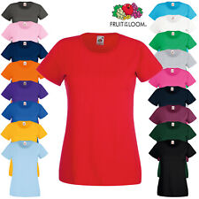 Fruit of the Loom Lady-fit valueweight tee (SS050)