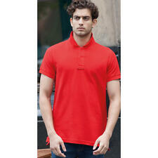 SF Mens Club Polo Stay-Up Collar SFM47 Comfort Short Sleeves Slimmer Fit T-Shirt