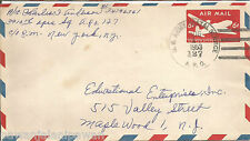 USA-OLD TIME AIRMAIL ENVELOP+POST DUE+NICE CANCELL