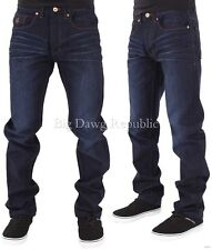 Rocawear Mens Boys Double R Star Relaxed Fit Hip Hop Jeans Is Money G Time DKBlu