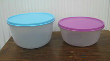 Vintage 1980's Tupperware Bowls 2 Litre or 1.5 Litre Very Good Condition