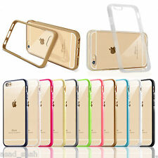 Luxury Slim Aluminium Metal Bumper Back Case Cover For iPhone 4/5/6