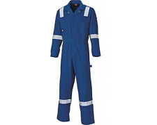 Dickies WD2279LW Mens Coverall Lightweight 100% Cotton Hi Vis Overall Boilersuit