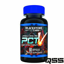 Blackstone Labs PCT V 60 CAPS - NATURALLY BOOSTS TESTOSTERONE LEAN MASS