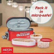 Milton Tiffin (Lunch Box) with Microwavable Containers