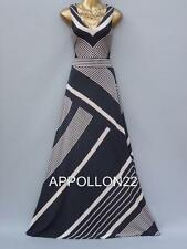 New Monsoon Melinda Stripe Maxi Dress szs 12 14 Wedding/Party/Cruise/Coast