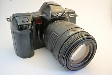 Minolta Dynax 7000i w/ 35-70mm and 70-210mm lenses - film tested