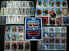 Topps FORCE ATTAX Star Wars MOVIE EDITION 1.Serie Collection Film Trading Card