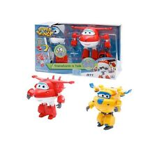 SUPER WINGS Trasform 'n Talk Personaggi Parlanti in ITA Trasformabili by Auldey