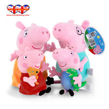 Peppa Pig Characters,Original Soft Toys:Daddy,Mummy,Peppa &George Pig Available