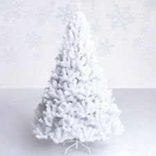5Ft Artificial PVC Christmas Tree W/Stand Holiday Season Indoor Outdoor White