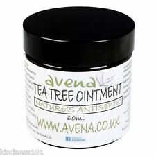 Tea Tree Ointment, Nature's Own Antiseptic for Burns, Bites or Athlete's Foot