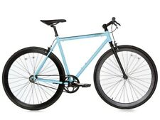 Bici Bicicletta Fixie Bike Scatto Fisso Single Speed & Fixed Gear - Black/Blue