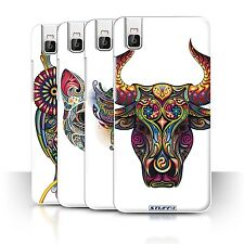 STUFF4 Phone Case/Back Cover for Huawei Honor 7i/ShotX /Ornamental Animals