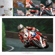 John McGuinness 2015 Isle of Man Senior TT fine art print by Billy the Artist