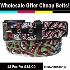 Wholesale Clearance Job Lot of 12 Mixed Belts PF38