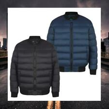 DISSIDENT MENS QUILTED PUFFER BOMBER JACKET PADDED WINTER COAT 1J8233