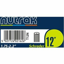 "Nutrak 12"" Bike/Pram Cycle Inner Tube - Schrader - 12"" x 1.75-2.2"" - 44/56-203"