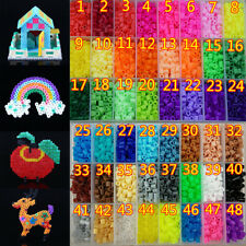 New 250/500/1000pcs 5mm PP HAMA/PERLER BEADS for Child Gift GREAT Kids Great Fun