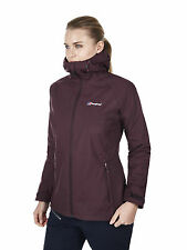 Berghaus Stormcloud mujer chaqueta impermeable 21199/Z62 winetasting NUEVO