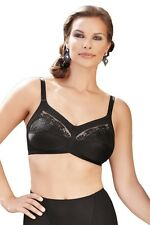 03d38b774029 Anita *Safina* Non-wired Full Figure Comfort Bra with Embroidery 5449 in  Black