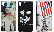 Exclusive Designer Print Hard Back Cover For  HTC Desire 728 / 728G Dual sim