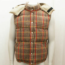 NEW BBC Bee Line x Crescent Down Works Wool Check Down Gilet RRP: £575 BNWT