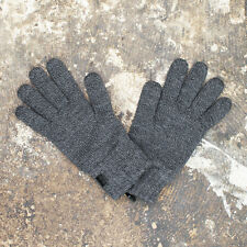 NEW D&G Dolce & Gabbana Grey Knitted Gloves GENUINE RRP: £75 BNWT
