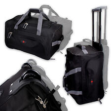 Trolley Reisetrolley Rolltasche Trolley Koffer Rollkoffer Reisekoffer BLACK GREY