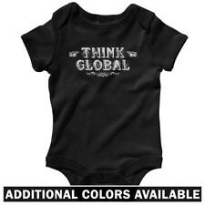 Think Global One Piece - Baby Infant Creeper Romper NB-24M  Gift Activist Travel