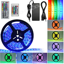 5-50M Bande LED Strip Flexible RGB 3528 5050 SMD IP65 Etanche Fête Noël Party