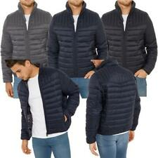Mens Threadbare Padded Quilted Jacket Coat Warm Winter MONGREL