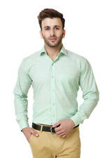 Austin-M Men's Sea-Green Formal Shirt(austin_m_fs_009)