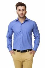 Austin-M Men's Blue Formal Shirt(austin_m_fs_010)