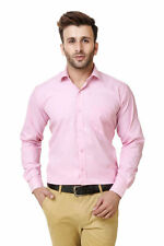Austin-M Men's Self Design Pink Formal Shirt(austin_m_fs_011)